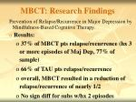 mbct research findings1