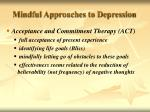 mindful approaches to depression1