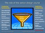 the role of the senior design course1