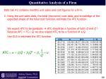 quantitative analysis of a firm2