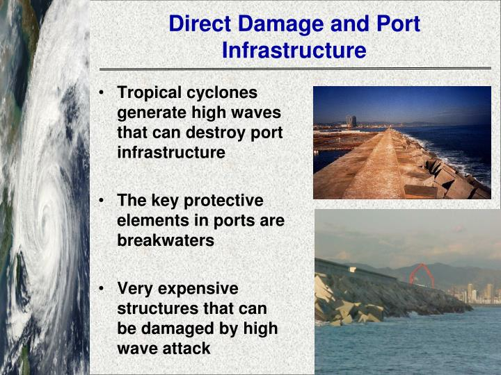 Direct Damage and Port Infrastructure