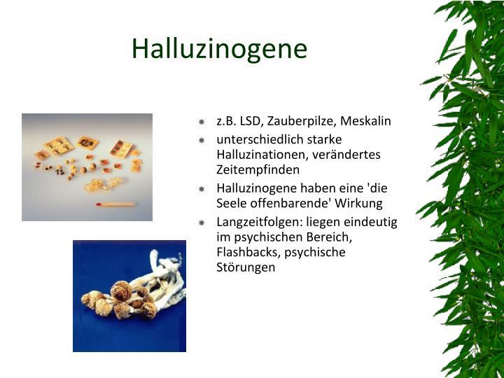 Halluzinogene