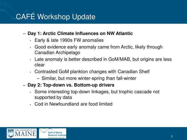 Caf workshop update1