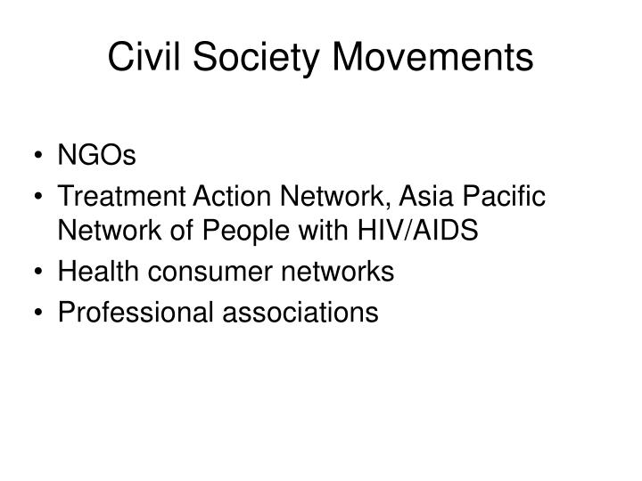 Civil Society Movements