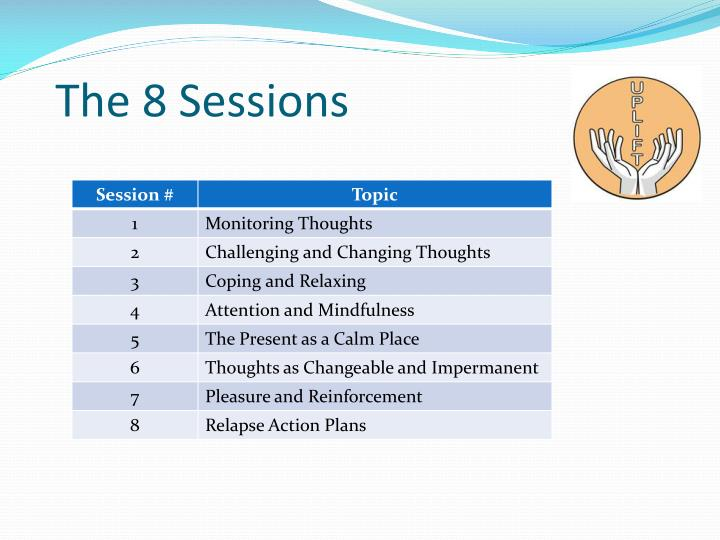 The 8 Sessions