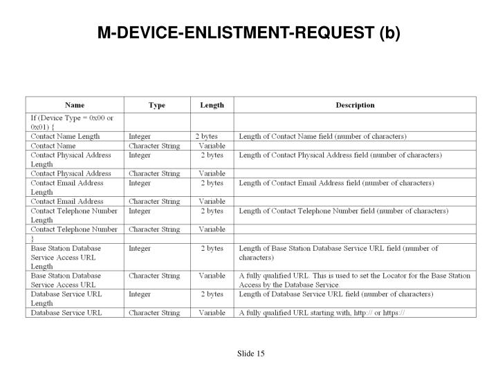 M-DEVICE-ENLISTMENT-REQUEST (b)