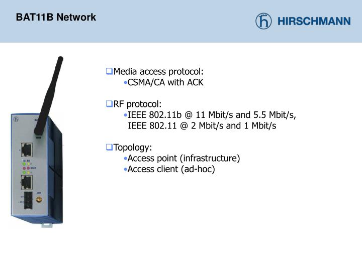 BAT11B Network