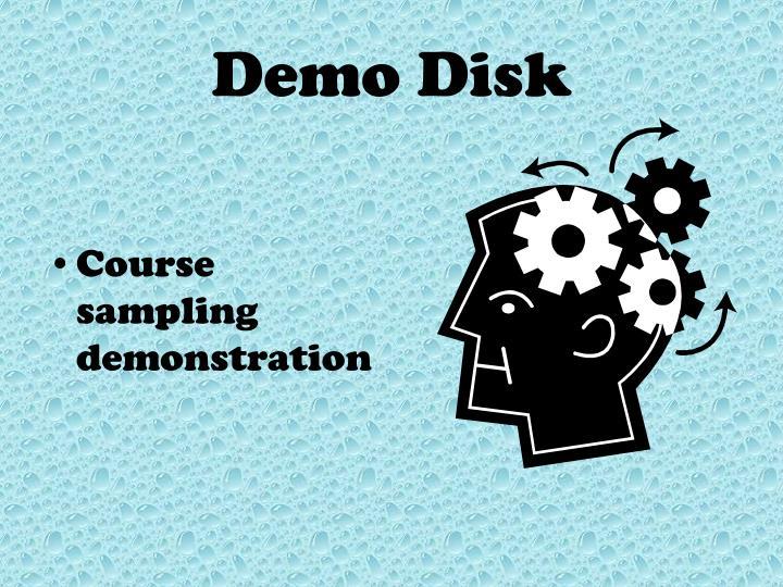 Demo Disk