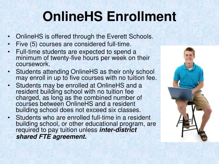 OnlineHS Enrollment