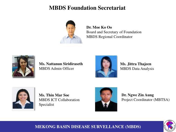 MBDS Foundation Secretariat