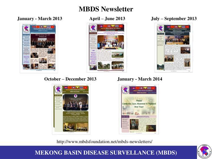 MBDS Newsletter