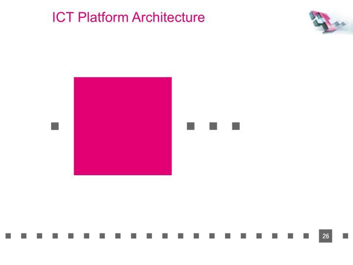 ICT Platform Architecture