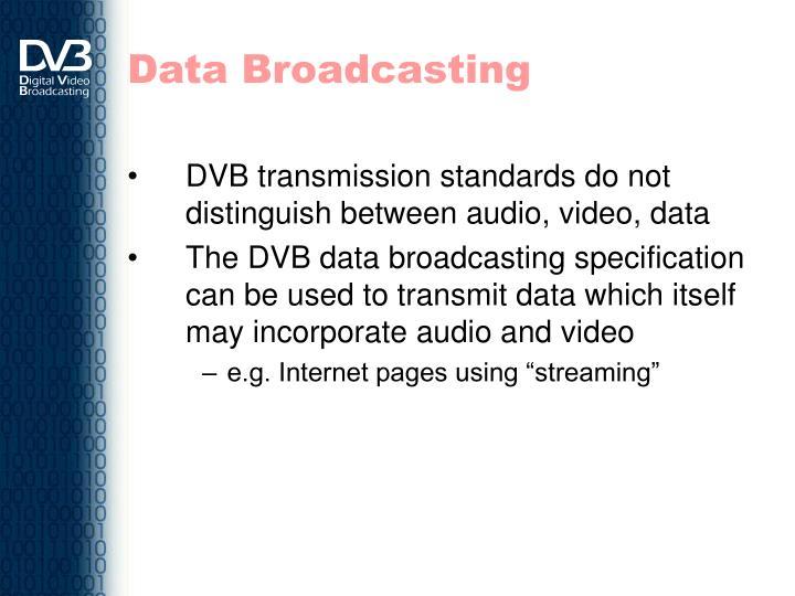 Data Broadcasting