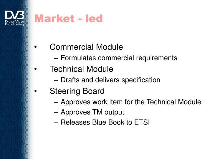 Market - led