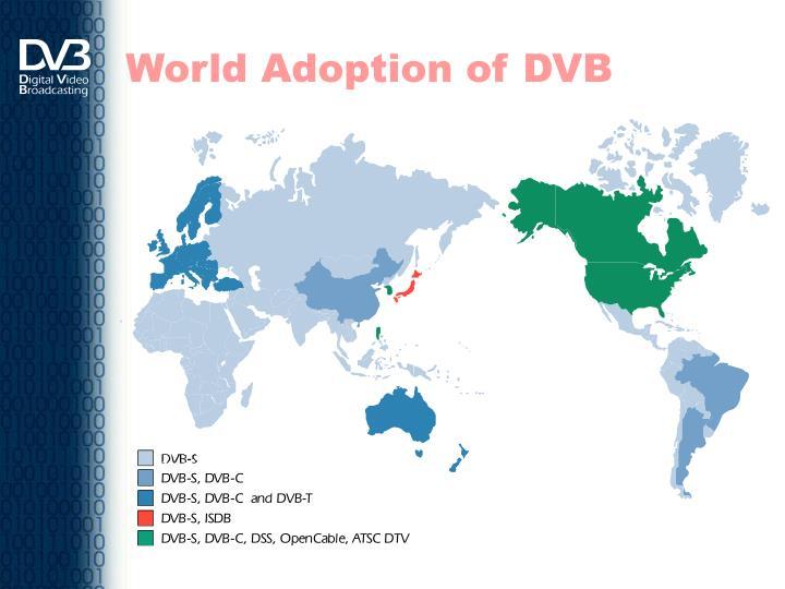 World Adoption of DVB