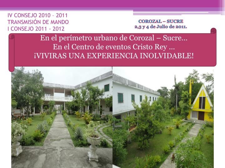 Iv consejo 2010 2011 transmisi n de mando i consejo 2011 2012