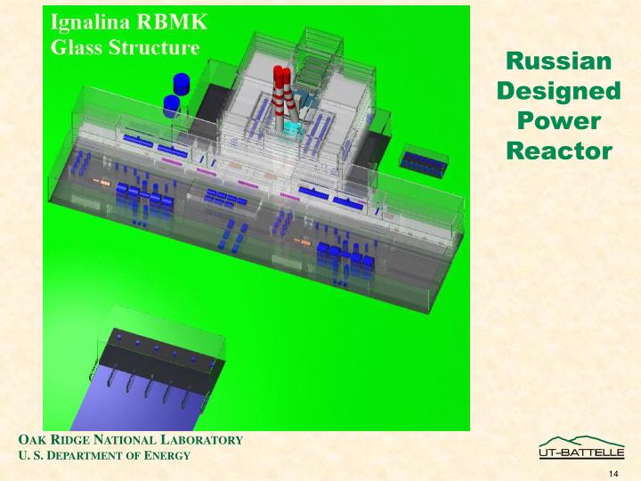 Russian Designed Power Reactor