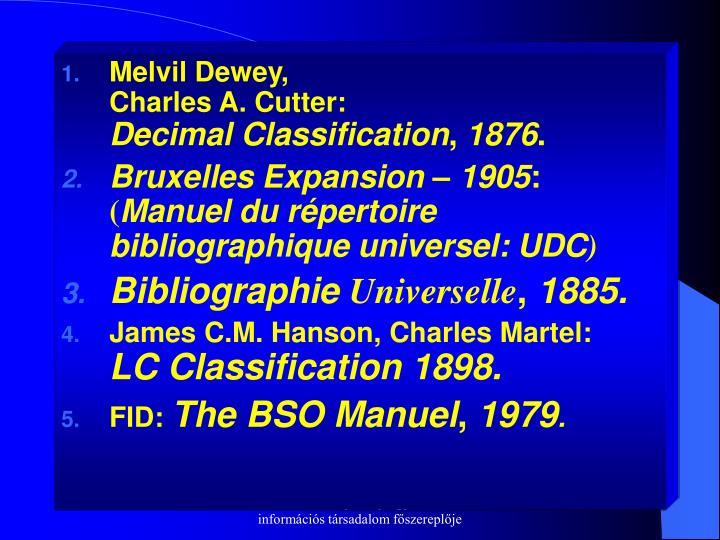 Melvil Dewey,