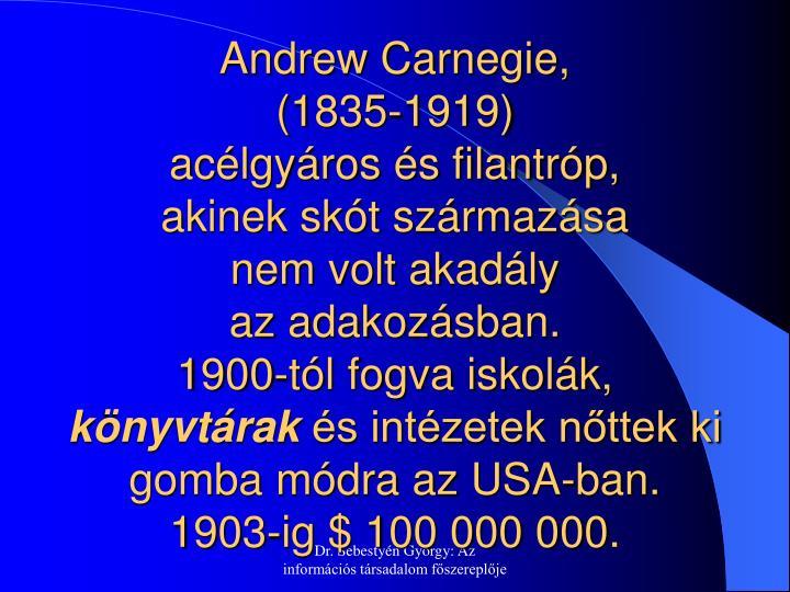 Andrew Carnegie,
