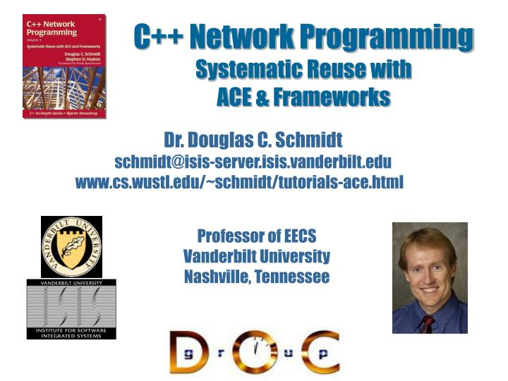 C network programming systematic reuse with ace frameworks