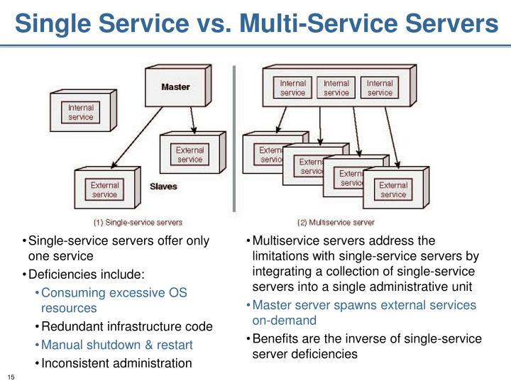 Single Service vs. Multi-Service Servers