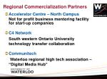 regional commercialization partners
