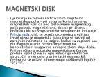 magnetski disk