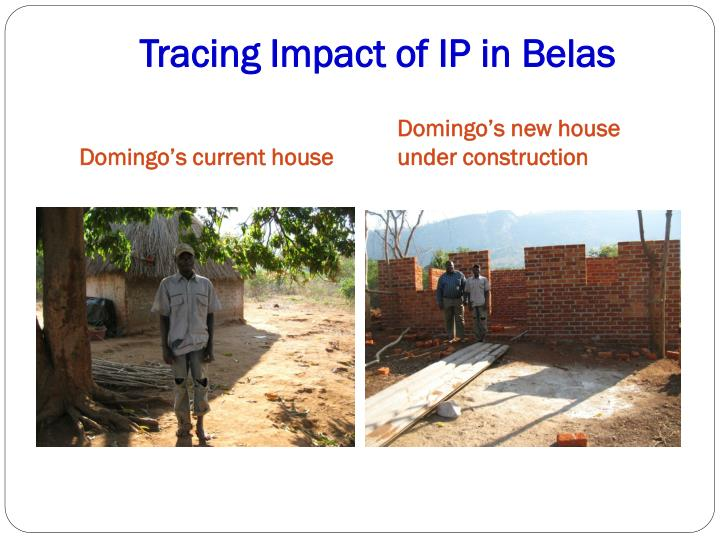 Domingo's new house under construction