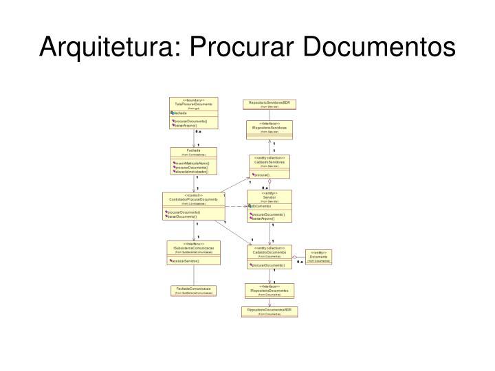 Arquitetura: Procurar Documentos