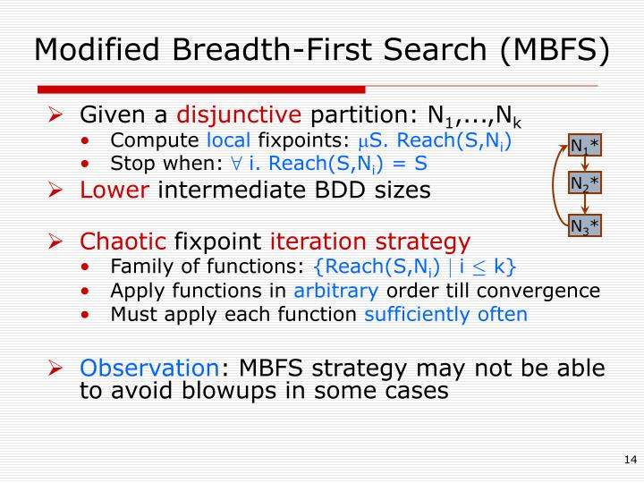 Modified Breadth-First Search (MBFS)