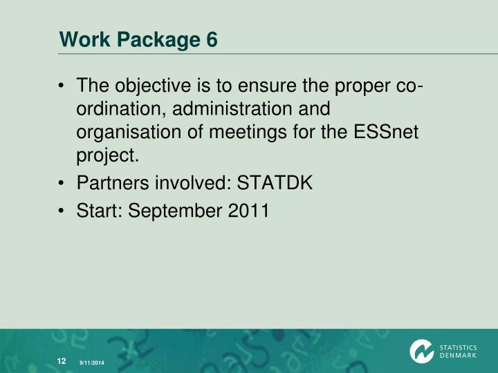 Work Package 6