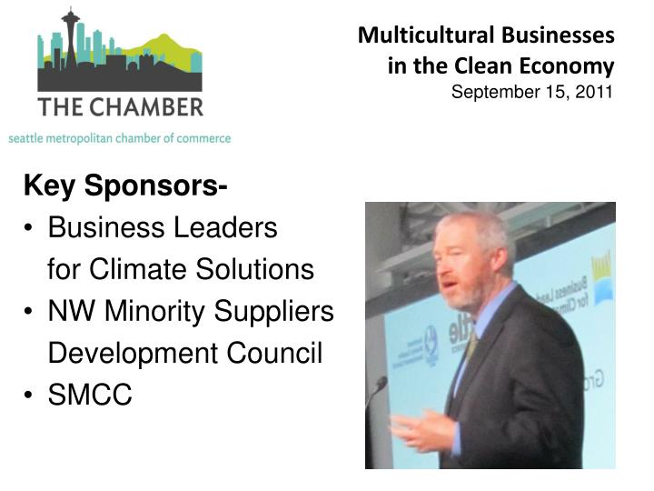 Multicultural Businesses