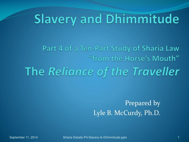 Slavery and