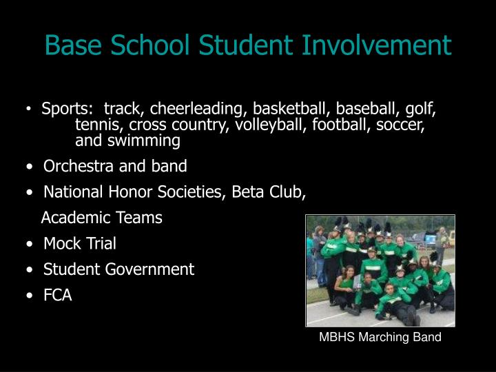 Base School Student Involvement