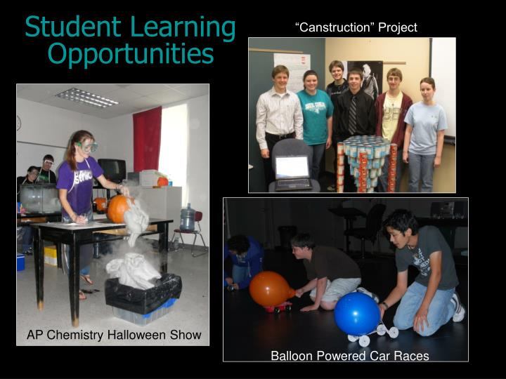 Student Learning Opportunities