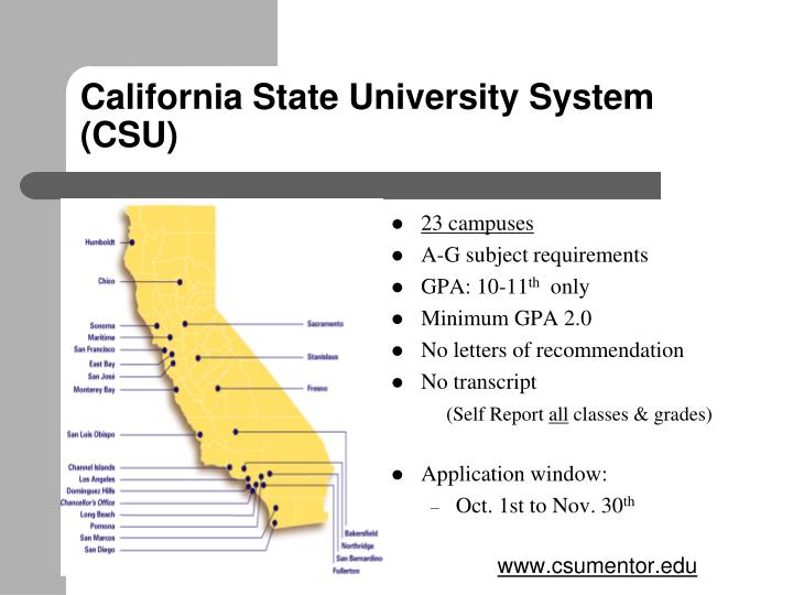 California State University System  (CSU)