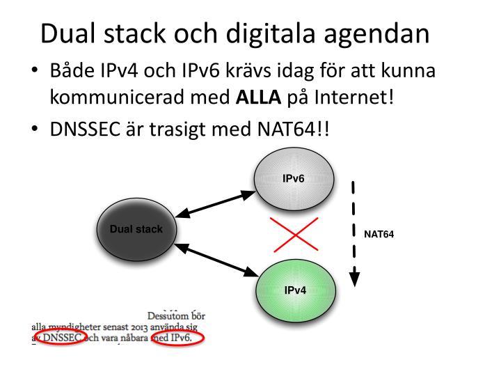 Dual stack och digitala agendan