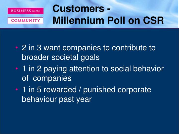 Customers -