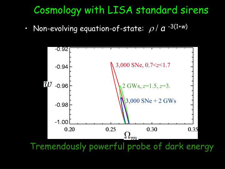 Cosmology with LISA standard sirens