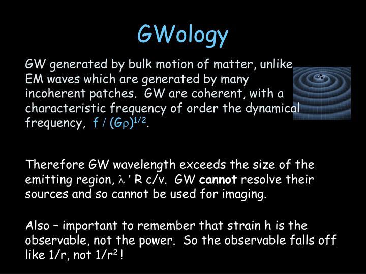 GWology