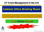 ct crisis management in the u k