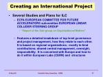 creating an international project2