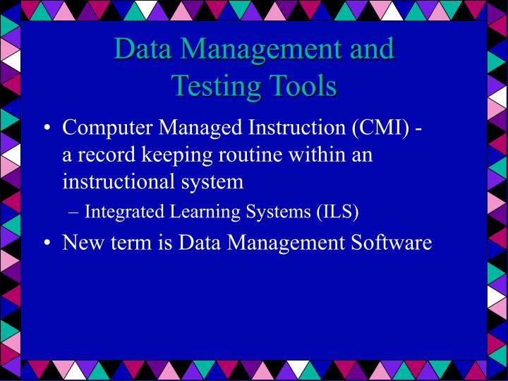 Data Management and