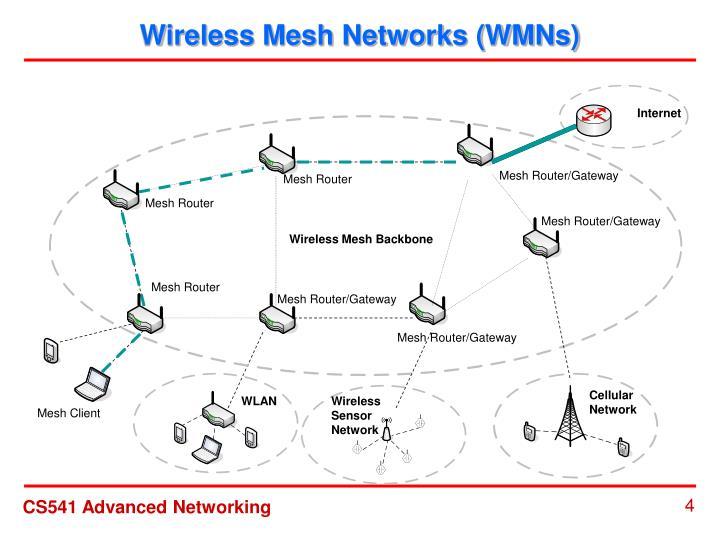Wireless Mesh Networks (WMNs)