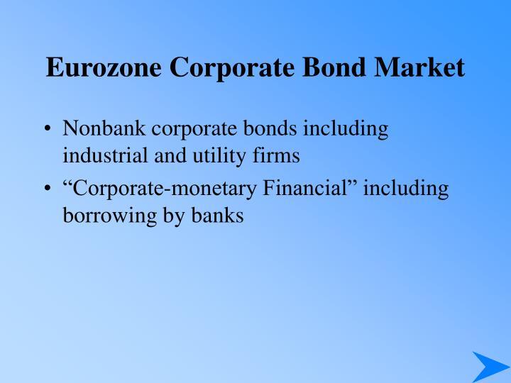 Eurozone Corporate Bond Market
