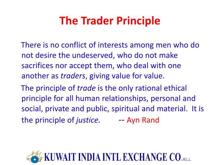 The Trader Principle