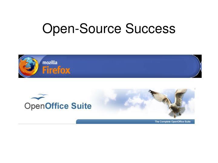 Open-Source Success
