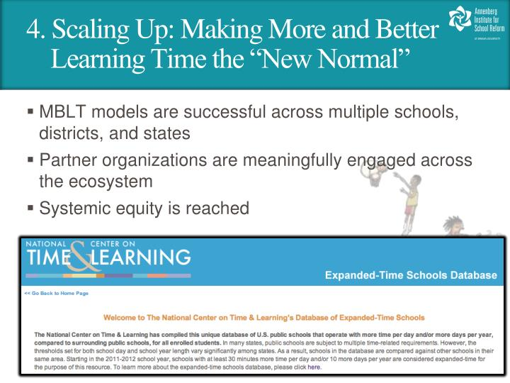 4. Scaling Up: Making More and Better