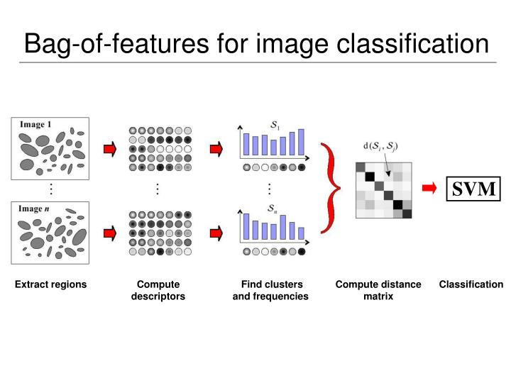 Bag-of-features for image classification