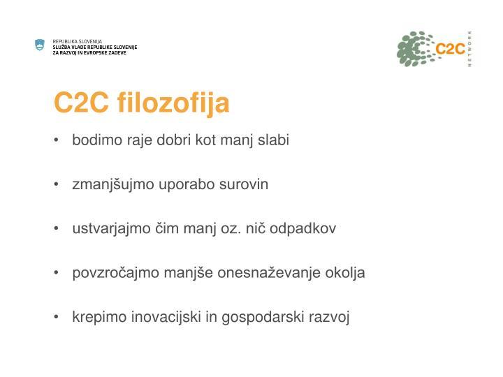 C2C filozofija